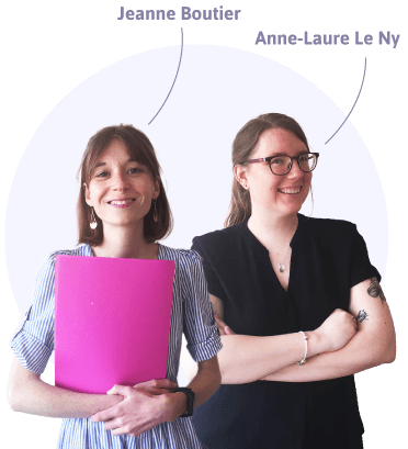 Anne Laure Le Ny et Jeanne Boutier vous accompagnent dans la création de votre CPTS en Pays de la Loire